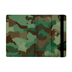 Camouflage Pattern A Completely Seamless Tile Able Background Design Ipad Mini 2 Flip Cases by Simbadda
