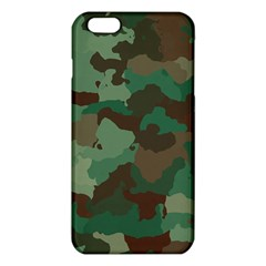 Camouflage Pattern A Completely Seamless Tile Able Background Design Iphone 6 Plus/6s Plus Tpu Case by Simbadda