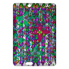 Sunny Roses In Rainy Weather Pop Art Amazon Kindle Fire Hd (2013) Hardshell Case by pepitasart