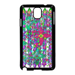 Sunny Roses In Rainy Weather Pop Art Samsung Galaxy Note 3 Neo Hardshell Case (black) by pepitasart