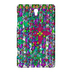 Sunny Roses In Rainy Weather Pop Art Samsung Galaxy Tab S (8 4 ) Hardshell Case  by pepitasart