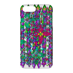 Sunny Roses In Rainy Weather Pop Art Apple Iphone 7 Plus Hardshell Case by pepitasart