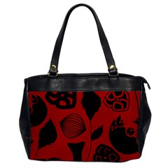 Congregation Of Floral Shades Pattern Office Handbags by Simbadda