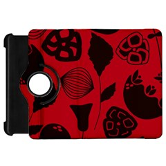 Congregation Of Floral Shades Pattern Kindle Fire Hd 7  by Simbadda