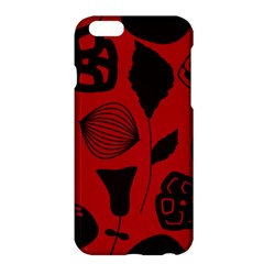 Congregation Of Floral Shades Pattern Apple Iphone 6 Plus/6s Plus Hardshell Case by Simbadda