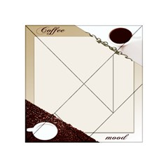 Greeting Card Coffee Mood Acrylic Tangram Puzzle (4  X 4 ) by Simbadda