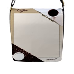 Greeting Card Coffee Mood Flap Messenger Bag (l)  by Simbadda