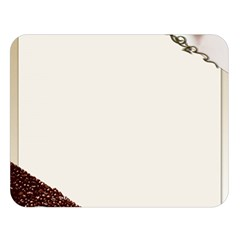 Greeting Card Coffee Mood Double Sided Flano Blanket (large)