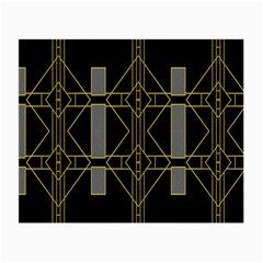 Simple Art Deco Style  Small Glasses Cloth (2 Side) by Simbadda