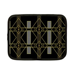Simple Art Deco Style  Netbook Case (small)  by Simbadda