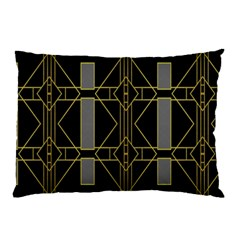 Simple Art Deco Style  Pillow Case by Simbadda
