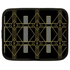 Simple Art Deco Style  Netbook Case (xl)  by Simbadda