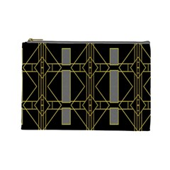 Simple Art Deco Style  Cosmetic Bag (large)  by Simbadda