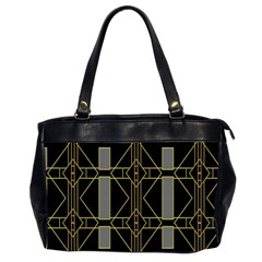 Simple Art Deco Style  Office Handbags (2 Sides)  by Simbadda