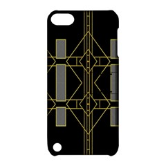 Simple Art Deco Style  Apple Ipod Touch 5 Hardshell Case With Stand by Simbadda