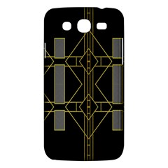 Simple Art Deco Style  Samsung Galaxy Mega 5 8 I9152 Hardshell Case  by Simbadda