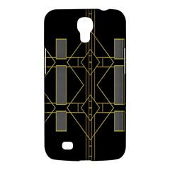 Simple Art Deco Style  Samsung Galaxy Mega 6 3  I9200 Hardshell Case by Simbadda