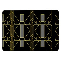 Simple Art Deco Style  Samsung Galaxy Tab Pro 12 2  Flip Case by Simbadda