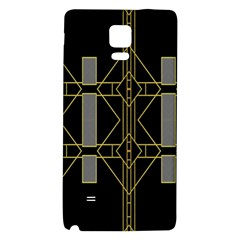 Simple Art Deco Style  Galaxy Note 4 Back Case by Simbadda