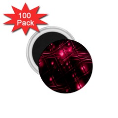 Picture Of Love In Magenta Declaration Of Love 1 75  Magnets (100 Pack)  by Simbadda