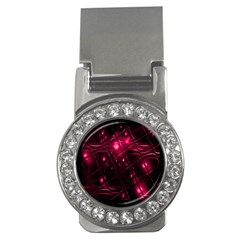 Picture Of Love In Magenta Declaration Of Love Money Clips (cz)  by Simbadda