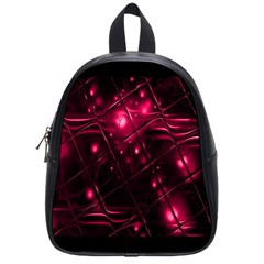 Picture Of Love In Magenta Declaration Of Love School Bags (small)  by Simbadda