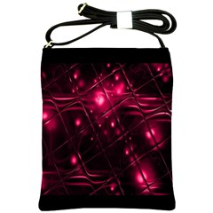 Picture Of Love In Magenta Declaration Of Love Shoulder Sling Bags by Simbadda