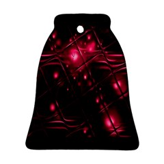 Picture Of Love In Magenta Declaration Of Love Bell Ornament (two Sides) by Simbadda