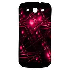 Picture Of Love In Magenta Declaration Of Love Samsung Galaxy S3 S Iii Classic Hardshell Back Case by Simbadda