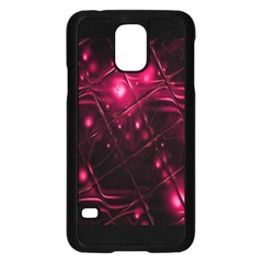 Picture Of Love In Magenta Declaration Of Love Samsung Galaxy S5 Case (black) by Simbadda