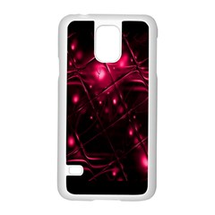Picture Of Love In Magenta Declaration Of Love Samsung Galaxy S5 Case (white) by Simbadda