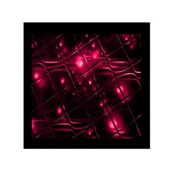 Picture Of Love In Magenta Declaration Of Love Small Satin Scarf (square) by Simbadda