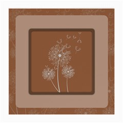 Dandelion Frame Card Template For Scrapbooking Medium Glasses Cloth by Simbadda