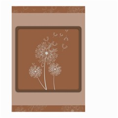Dandelion Frame Card Template For Scrapbooking Small Garden Flag (two Sides) by Simbadda