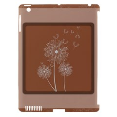 Dandelion Frame Card Template For Scrapbooking Apple Ipad 3/4 Hardshell Case (compatible With Smart Cover) by Simbadda