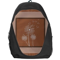 Dandelion Frame Card Template For Scrapbooking Backpack Bag by Simbadda
