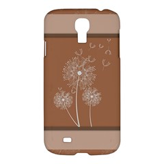 Dandelion Frame Card Template For Scrapbooking Samsung Galaxy S4 I9500/i9505 Hardshell Case by Simbadda