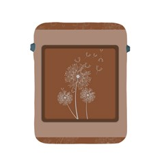Dandelion Frame Card Template For Scrapbooking Apple Ipad 2/3/4 Protective Soft Cases by Simbadda
