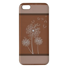 Dandelion Frame Card Template For Scrapbooking Iphone 5s/ Se Premium Hardshell Case by Simbadda