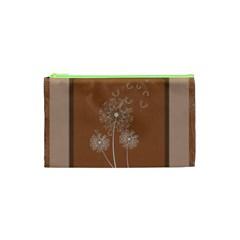 Dandelion Frame Card Template For Scrapbooking Cosmetic Bag (xs) by Simbadda