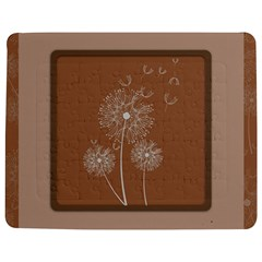 Dandelion Frame Card Template For Scrapbooking Jigsaw Puzzle Photo Stand (rectangular) by Simbadda