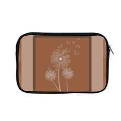 Dandelion Frame Card Template For Scrapbooking Apple Macbook Pro 13  Zipper Case by Simbadda