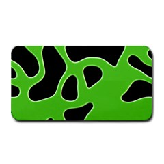 Black Green Abstract Shapes A Completely Seamless Tile Able Background Medium Bar Mats by Simbadda