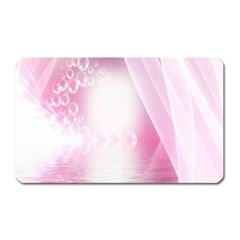 Realm Of Dreams Light Effect Abstract Background Magnet (rectangular) by Simbadda