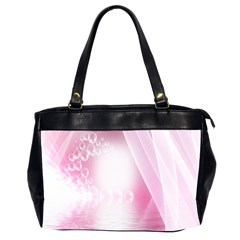 Realm Of Dreams Light Effect Abstract Background Office Handbags (2 Sides)  by Simbadda