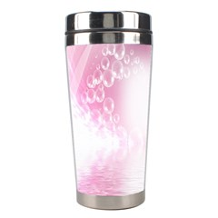 Realm Of Dreams Light Effect Abstract Background Stainless Steel Travel Tumblers by Simbadda