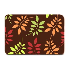 Leaves Wallpaper Pattern Seamless Autumn Colors Leaf Background Plate Mats by Simbadda