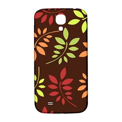 Leaves Wallpaper Pattern Seamless Autumn Colors Leaf Background Samsung Galaxy S4 I9500/i9505  Hardshell Back Case by Simbadda