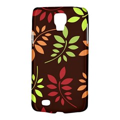 Leaves Wallpaper Pattern Seamless Autumn Colors Leaf Background Galaxy S4 Active by Simbadda