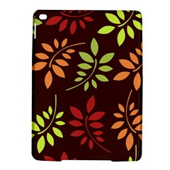 Leaves Wallpaper Pattern Seamless Autumn Colors Leaf Background Ipad Air 2 Hardshell Cases by Simbadda